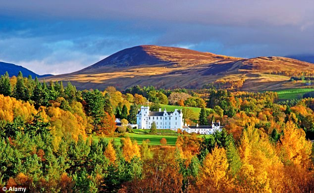 维多利亚女王传记新片再次带动苏格兰高