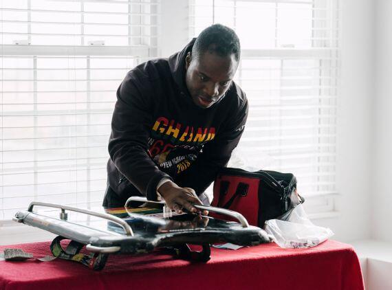 他是现身平昌的非洲选手之一 加纳冬奥历史上第二人