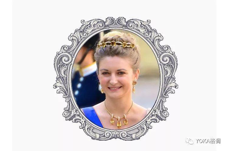 自备古董家族王冠出嫁 这位卢森堡王妃的婚礼召集了21国王室成员