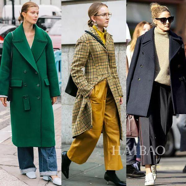 """新年大衣就选这几个最热""""网红""""款,保证一穿就赢!"""