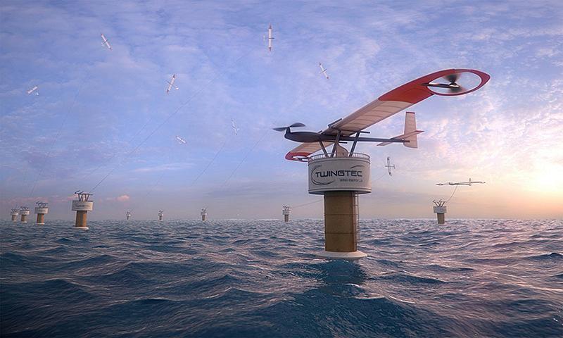 高科技风力发电无人机 400万台够全世界用?