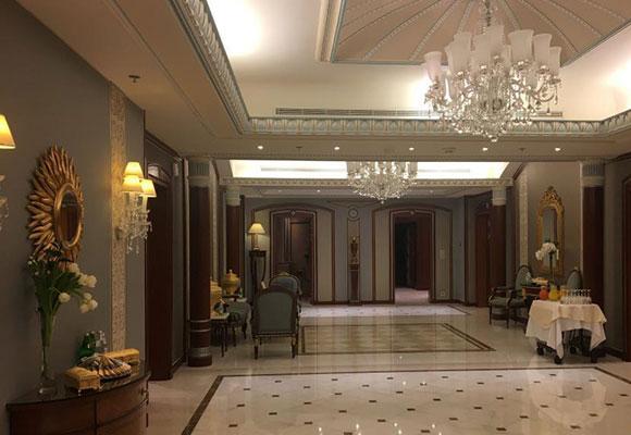 超豪华!沙特王子被关押酒店内景曝光
