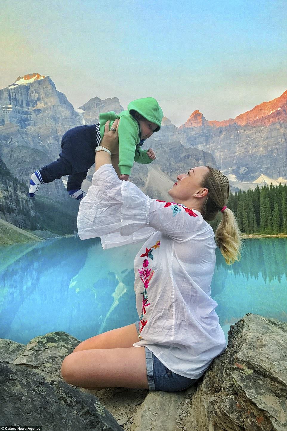 愛爾蘭女子產假期間攜夫帶兒女週遊全球