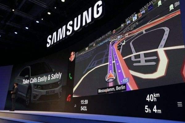 三星自动驾驶有新动作 测试车开进谷歌模拟小镇
