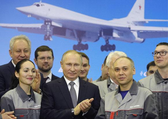 简氏:俄空军订购10架图160M2战略轰炸机