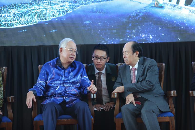 """马来西亚纳吉布:要充分利用""""一带一路""""优势"""