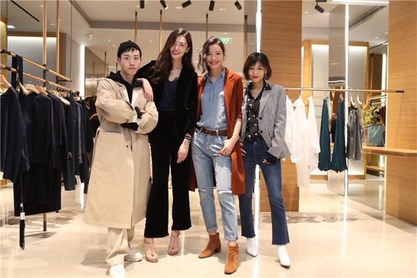 超模陈碧舸、时尚博主迪西一众时尚icon齐聚南京 助阵女装品牌OVV德基盛大开幕