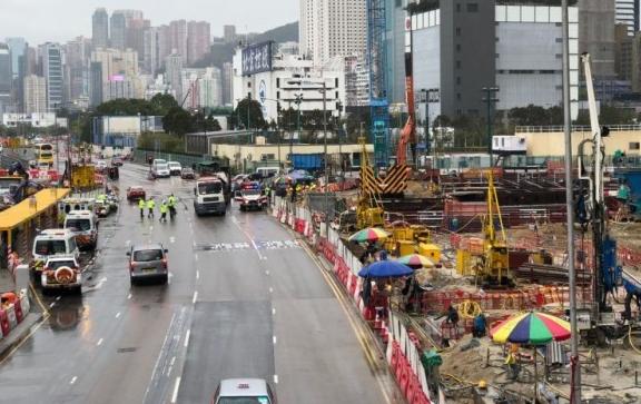"""香港市中心再次惊现炸弹!或为""""二战""""时期遗留"""