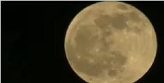 超级蓝月伴血月今晚亮相 持续时间长达一个多小时