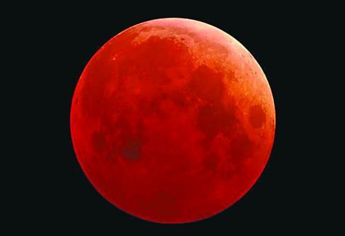 今晚,记得看超级蓝血月