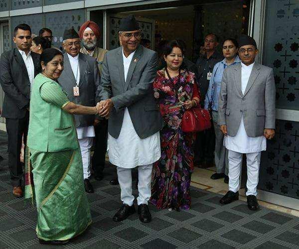 担忧中尼走近?印度外长访尼泊尔要重启两国关系