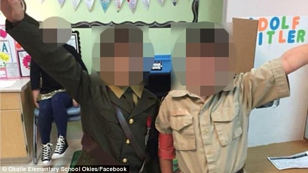 美国小学生扮希特勒行纳粹礼引众怒