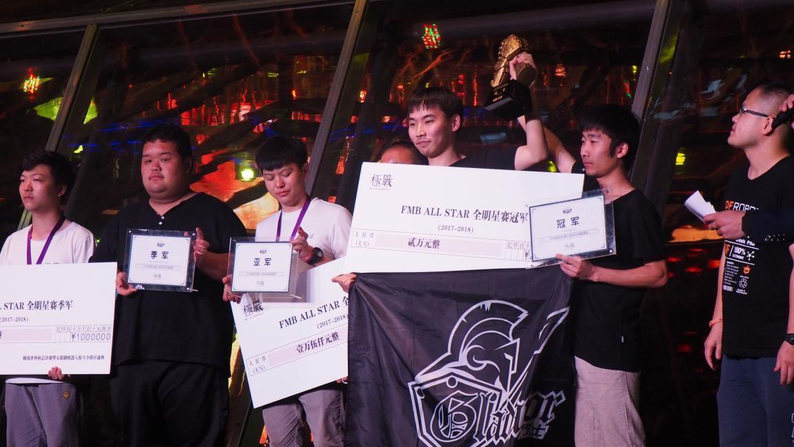 国际机器人竞技大赛 中国角斗士蓝战队获冠军