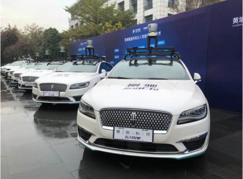 缘自百度基因 景驰无人驾驶汽车在广州开放试乘