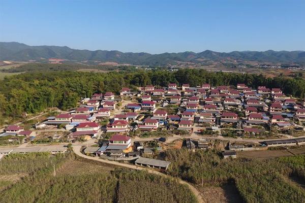 云南景谷:昔日地震灾区 而今美丽乡村