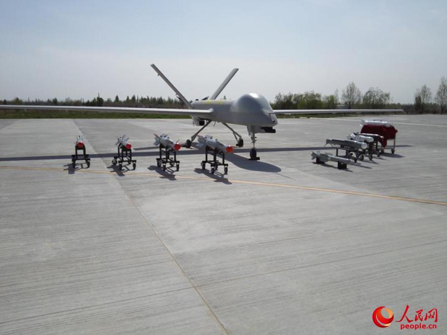 """国产""""彩虹-4""""无人机成功完成多型弹药实弹打靶试验"""