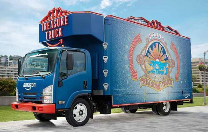 亚马逊Treasure Truck服务将开进美国全食超市的停车场