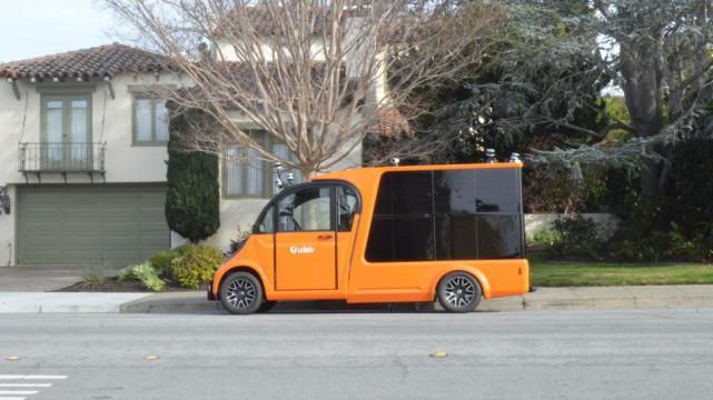 特斯拉有对手了 Udelv自动驾驶快递卡车美国开测