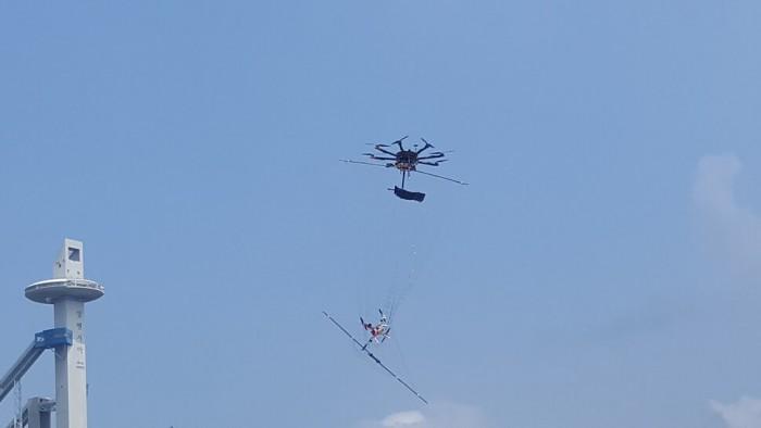 平昌冬奥会安保将使用能捕捉无人机的特别战术无人机