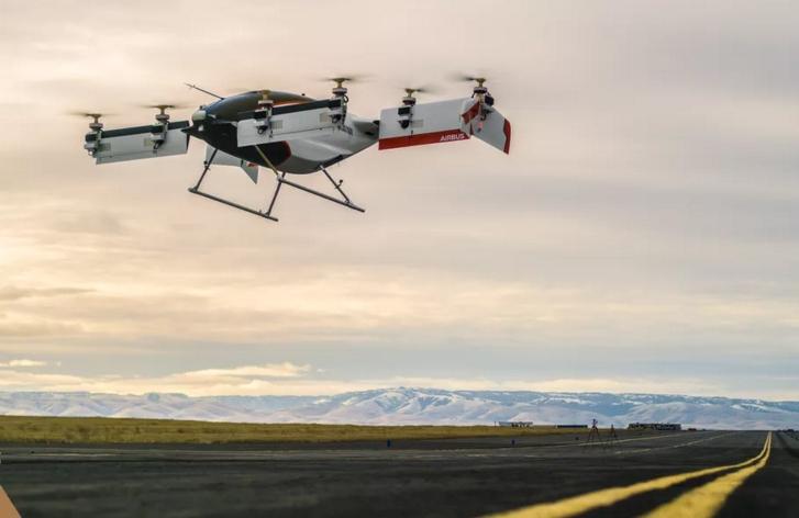 空客自动驾驶Vahana电动垂直起降首次试飞