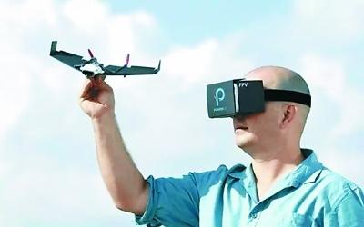 """纸飞机轻松""""变身""""无人机"""