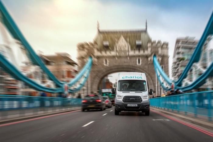 首次踏上欧洲市场 福特在伦敦推Chariot班车服务