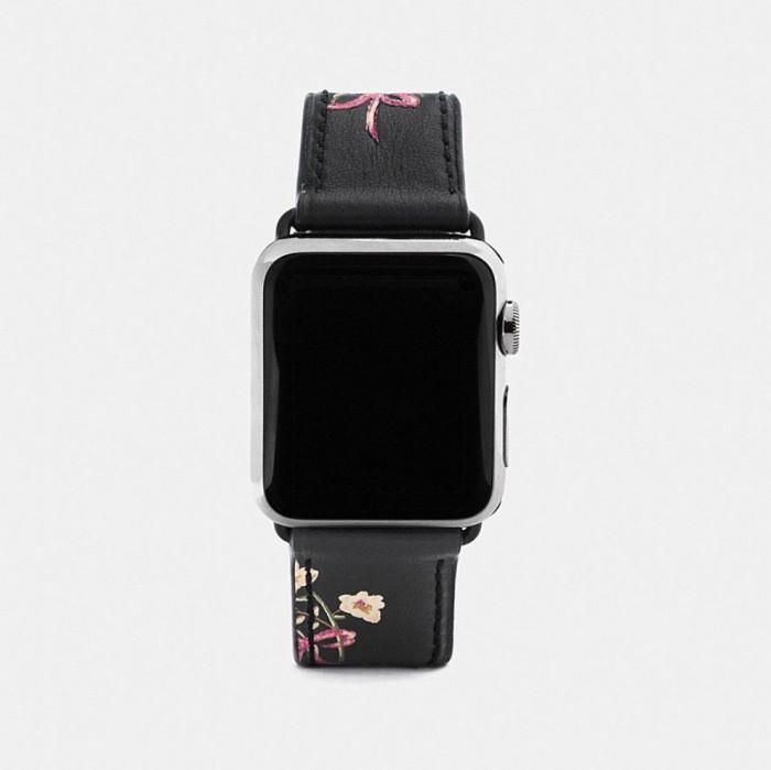 知名奢侈品品牌Coach发布全新Apple Watch表带