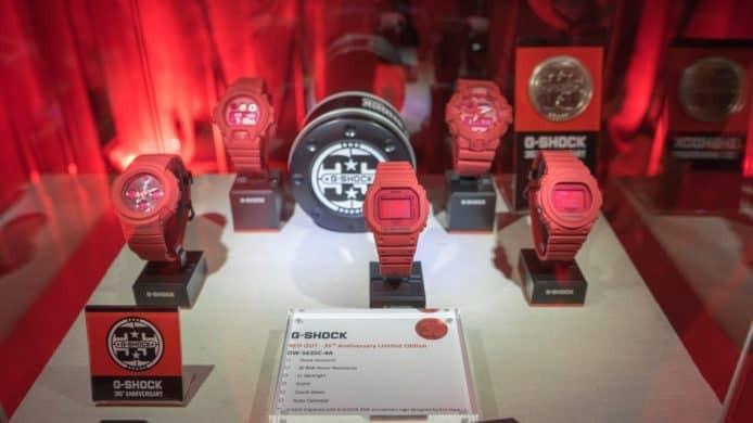 卡西欧发布Red-Out红色手表系列