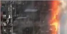 郑州一栋大厦发生火灾 明火从22层蔓延至顶层