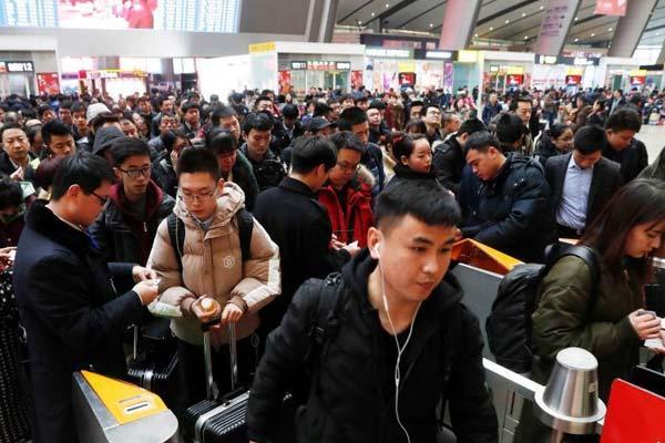 北京南站多项举措提高旅客进站效率