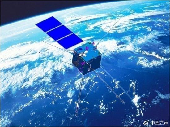 """金沙娱乐平台网址:张衡一号卫星顺利升空_以后可从天上""""看到""""地震"""