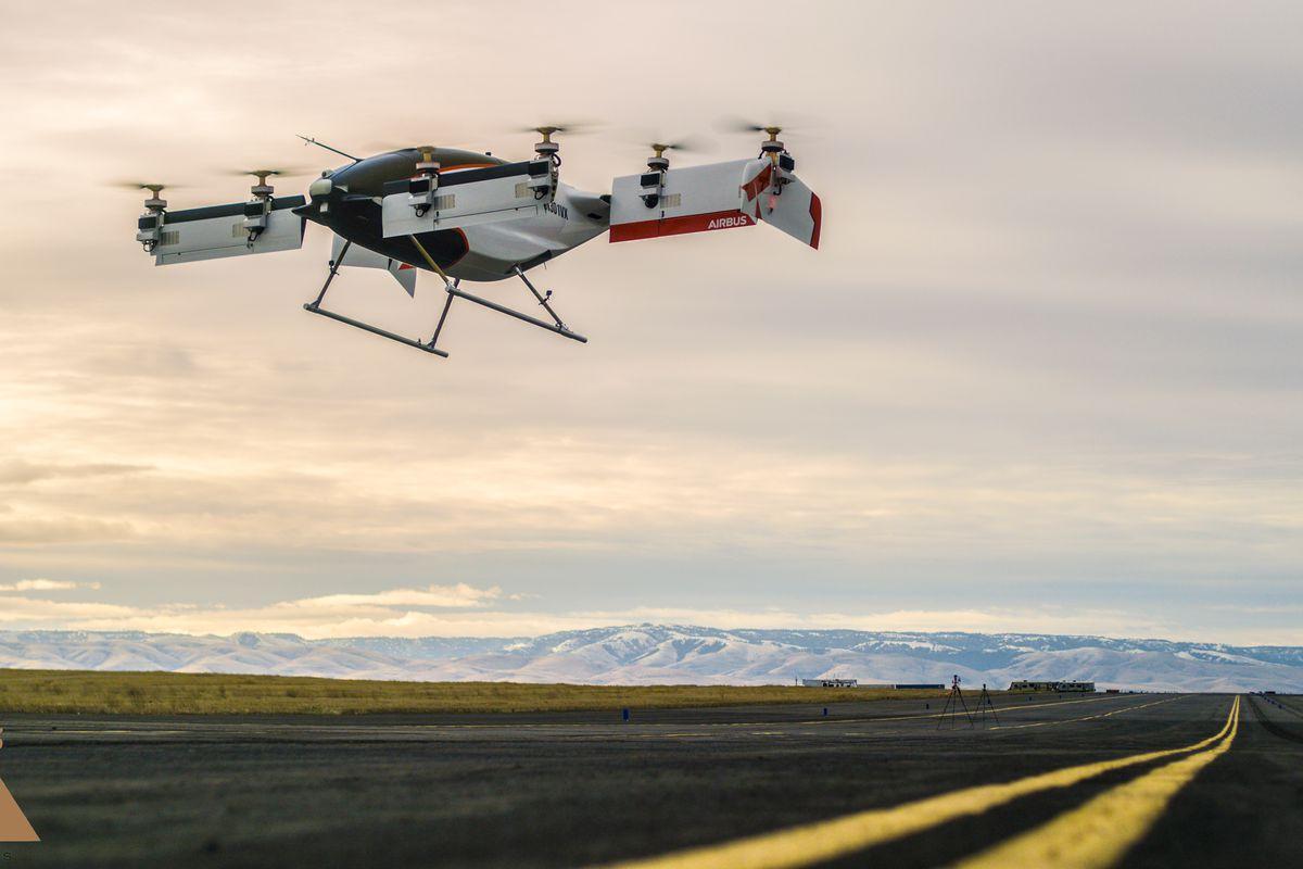 """空客无人驾驶""""飞车""""首飞成功,启动项目仅仅两年"""