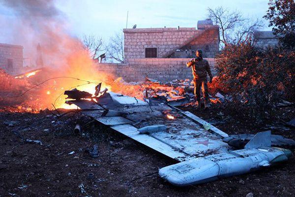 叙利亚反政府武装击落俄军战机 飞行员死亡
