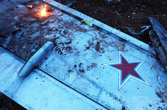 俄军一架苏25战机在叙利亚被击落