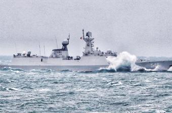 海军最精锐战舰编队高强度出击