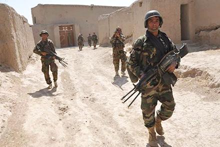 阿富汗军方一天内消灭100多名塔利班武装分子