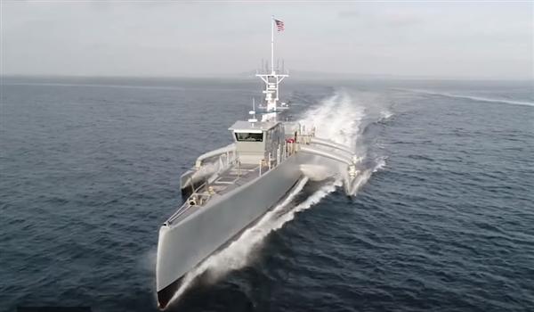 美国政府将向海军移交新式反潜军舰:无需驾驶人员