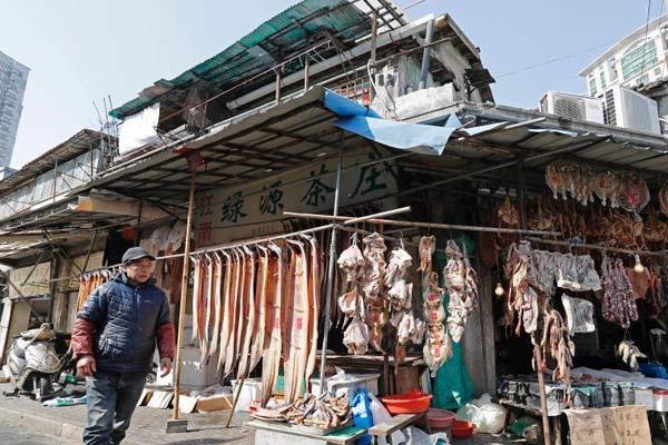 上海老城厢街头年味正浓