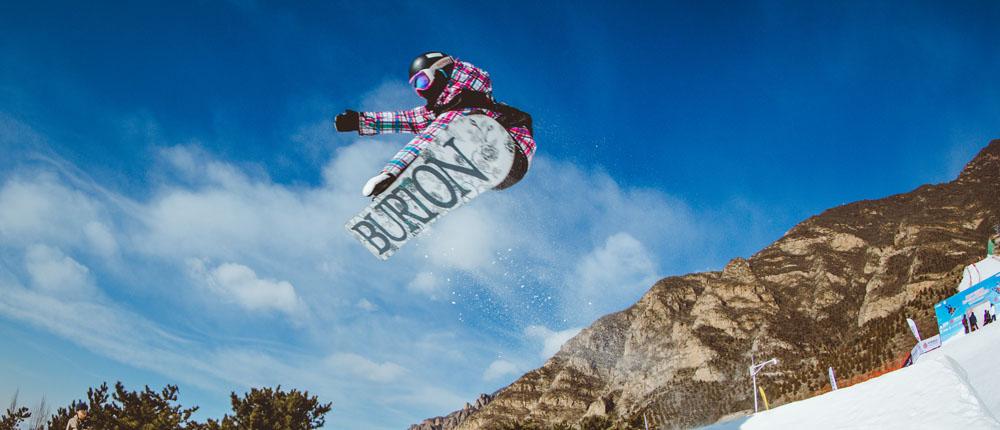 青少年自由式滑雪挑战赛落幕 小选手精彩瞬间