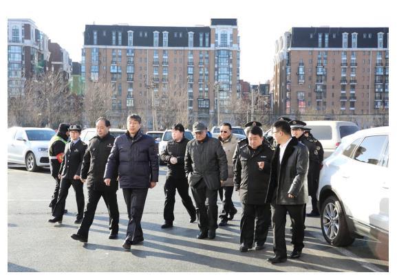市场火价格稳 锦绣大地春节保供应获海淀区领导点赞