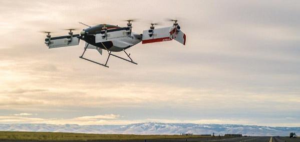 空客单座空中出租车完成首飞 计划2020年投入运营