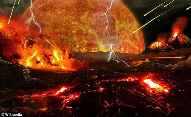 """40亿年前地球""""地狱时期""""可能存在神秘生命"""
