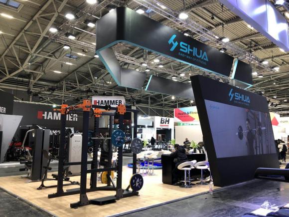 舒华X6豪华智能家用跑步机亮相2018年德国ISPO展