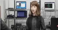 日本美女机器人主播或于4月上岗 拥人工智能对话系统