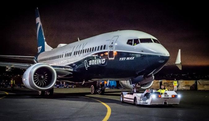波音Renton工厂首次展示737 MAX 7原型机