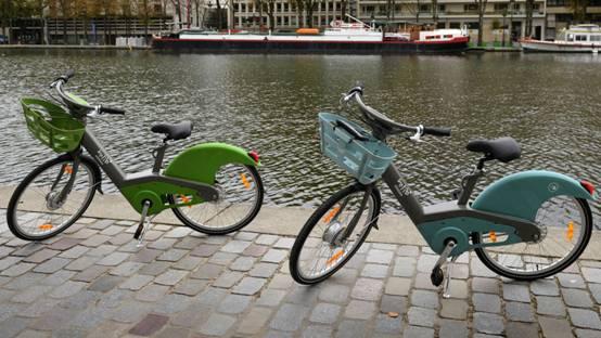 巴黎共享单车使用进度滞后  将面临百万欧元处罚