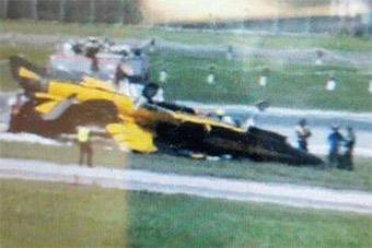 T50倾覆起火:韩国特技飞行队新加坡航展玩砸了