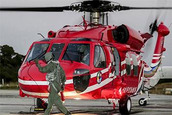 台湾黑鹰救援直升机失联 网友:不靠谱
