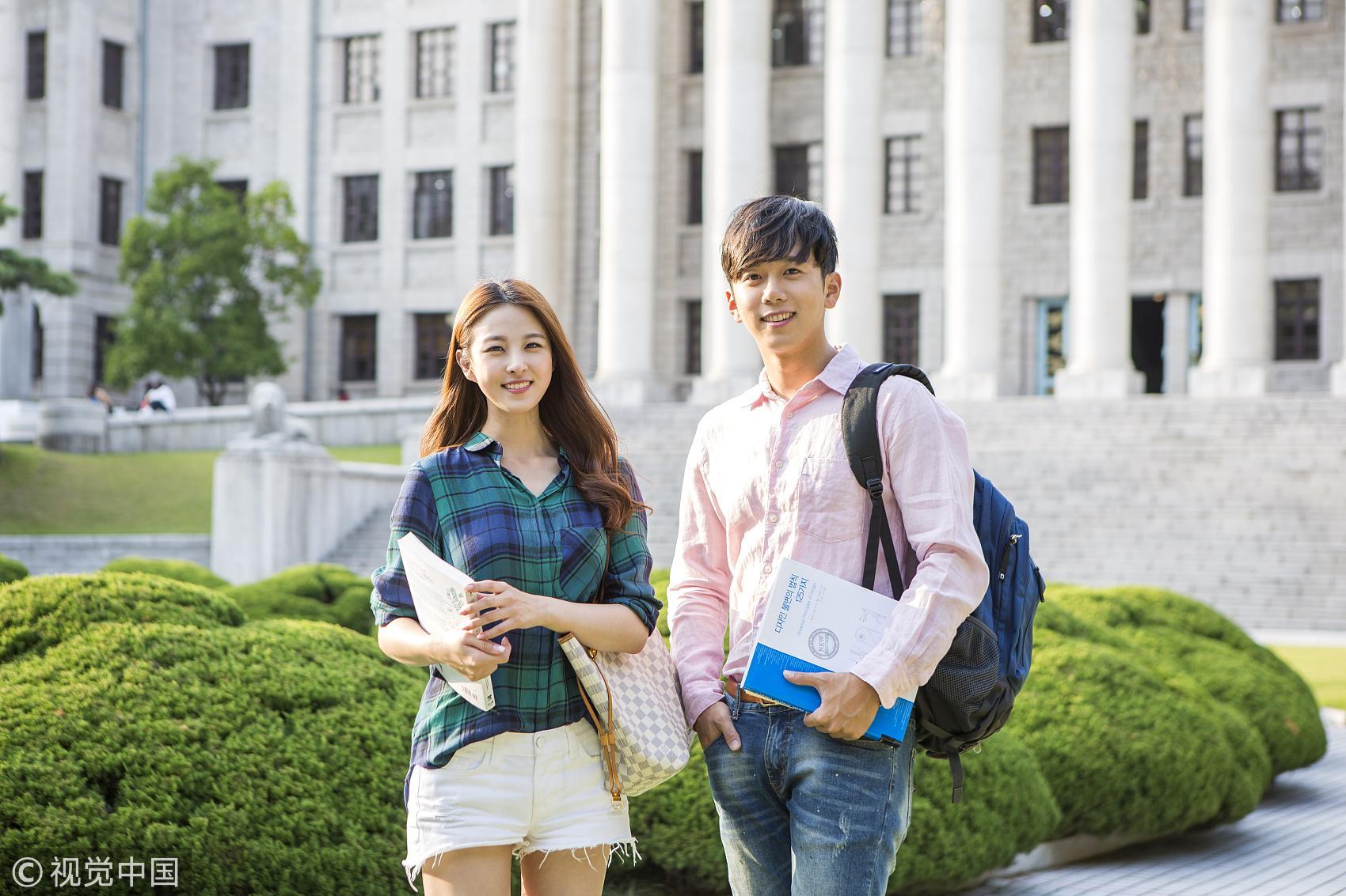 2017在韩留学生增幅创新高 中国学生超6.8万