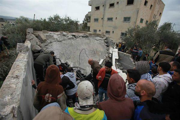 遭以军追捕的巴勒斯坦人贾拉尔被打死